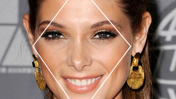 Ashley Greene diamond face