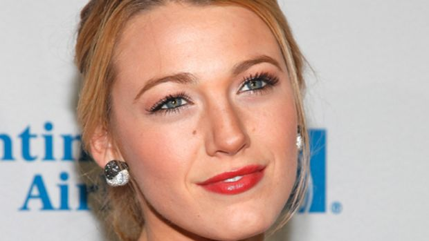Blake Lively - chest acne