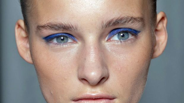 Mary Katrantzou - Spring 2013 makeup
