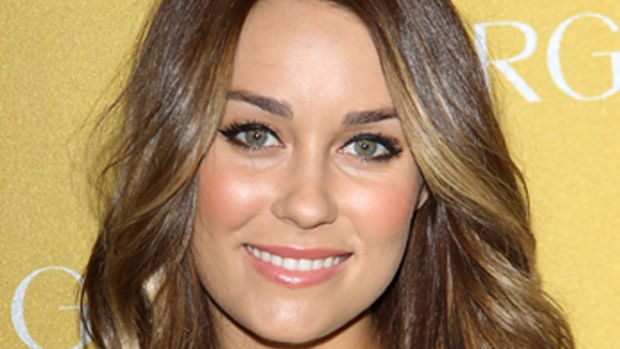 Lauren-Conrad-brunette-CoverGirl-50th-anniversary-party