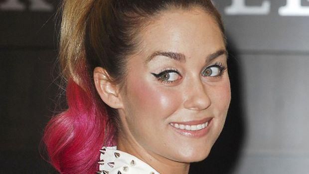 Lauren Conrad - pink hair