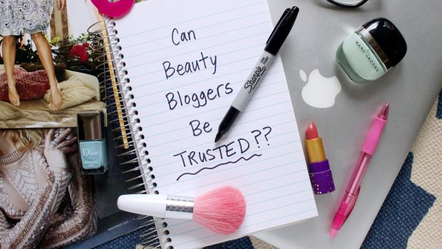 Dishonest beauty bloggers