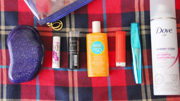 Camping beauty essentials