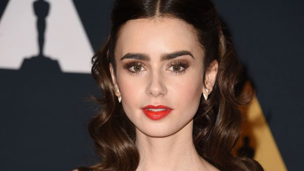 Lily Collins, Governors Awards 2016