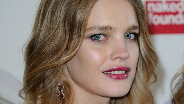 Natalia Vodianova, The Art of Giving Love Ball Naked Heart Foundation photocall, 2016