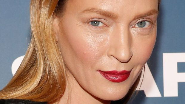 Uma Thurman, The Slap premiere, 2015