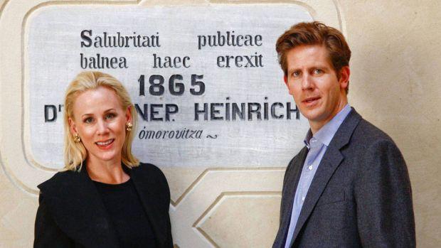 Margaret and Stephen de Heinrich de Omorovicza