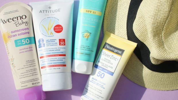 Zinc oxide sunscreen for body