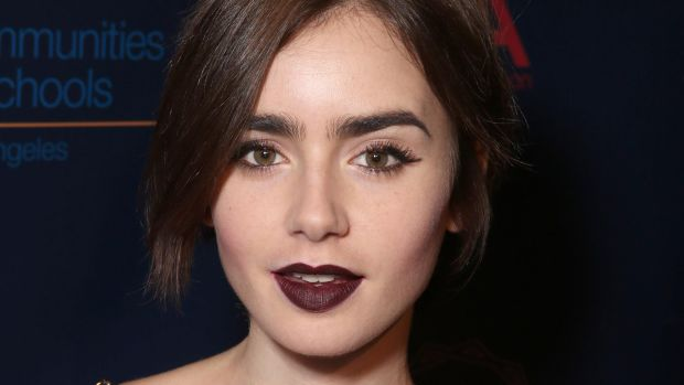 Lily Collins, CAA Young Hollywood Party, 2015