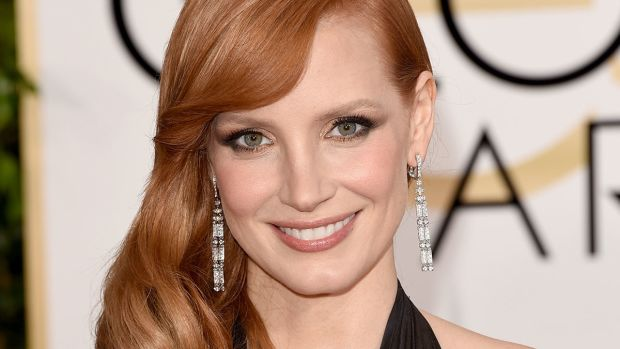 Jessica Chastain, Golden Globes 2015