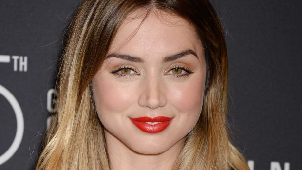Ana de Armas, HFPA and InStyle Golden Globes 75th Anniversary Celebration, 2017