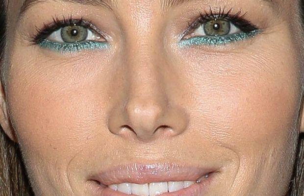 Jessica Biel makeup, Museum of Modern Art Tilda Swinton tribute, 2013 (2)