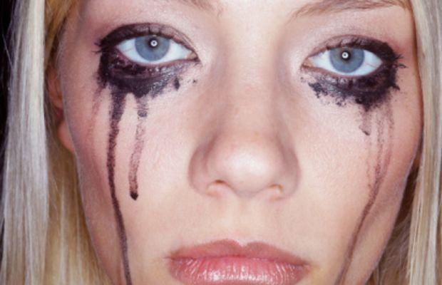 smeared-eyeliner