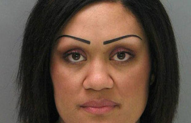 Sharpies not for use on eyebrows