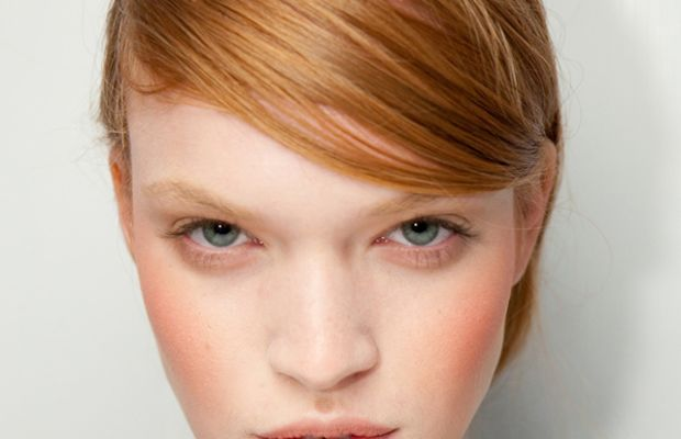 Timo Weiland - Spring 2012 makeup