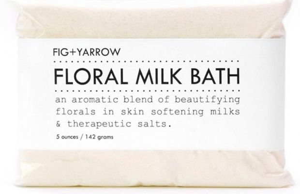 Fig & Yarrow Floral Milk Bath