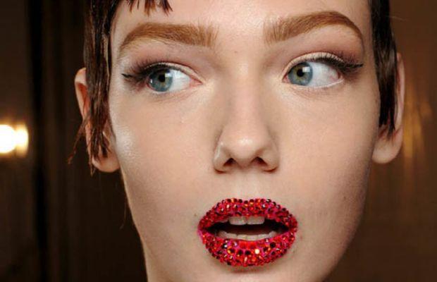 Christian Dior - Spring 2013 Couture makeup