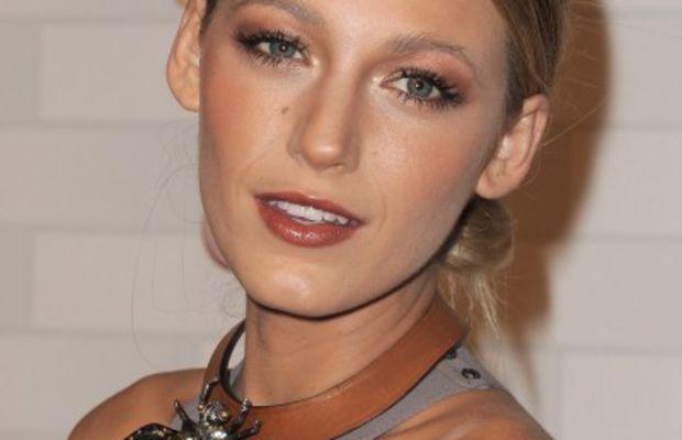 Blake-Lively-orange-makeup