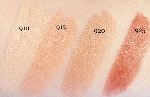 Maybelline New York The Buffs Lipstick in 910, 915, 920, 925 (swatched)