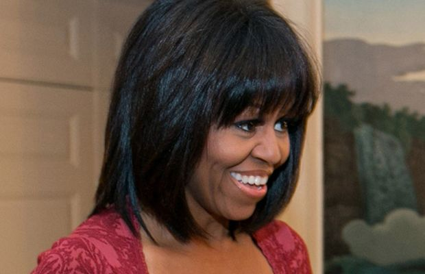Michelle Obama - bangs