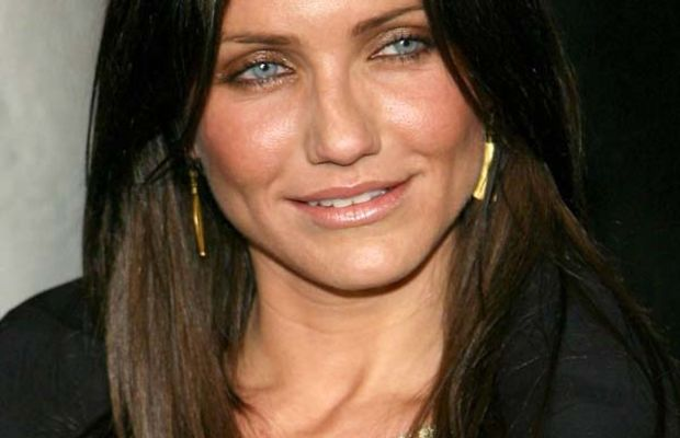 Cameron Diaz dark brown hair