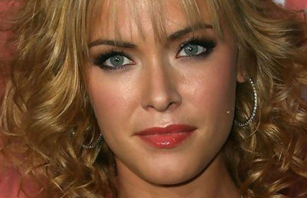 Kristanna Loken heart face bangs