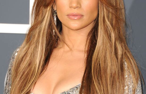 Jennifer Lopez blonde hair