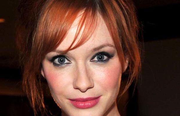 Christina-Hendricks-pink-lips