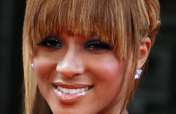 Ciara diamond face bangs
