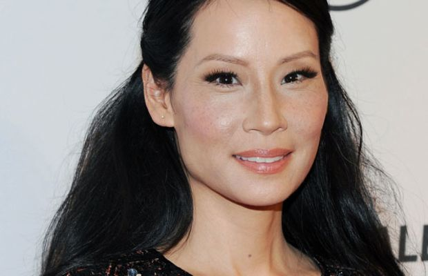 Lucy Liu hair - Paleyfest 2013
