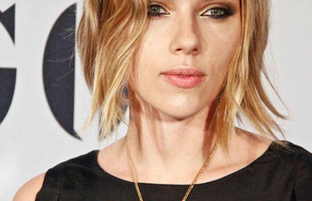 Scarlett Johansson - yellow eyeshadow