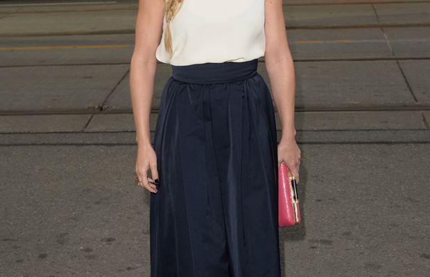 Jennifer Morrison hair - fishtail braid - Gravity premiere, 2013