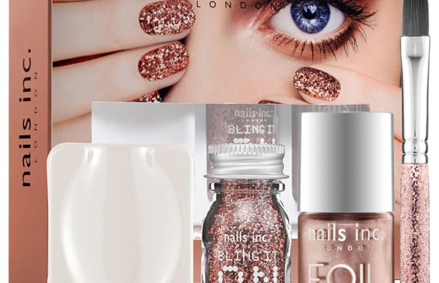 Nails Inc. Bling It On Rose Gold