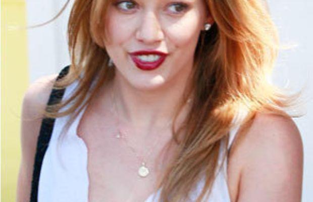 Hilary-Duff-red-hair