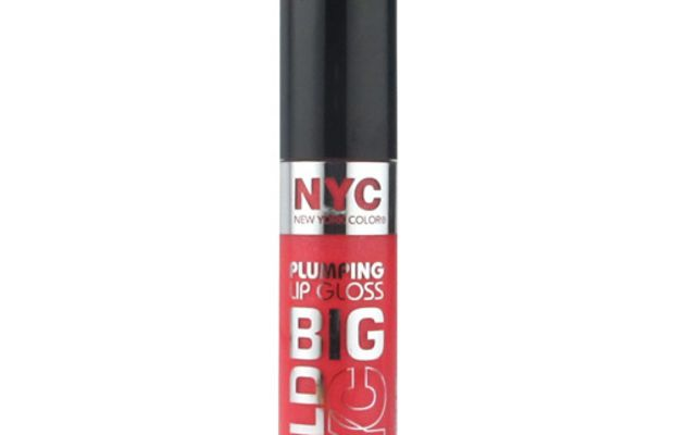 NYC New York Color Big Bold Gloss Plumping Lip Gloss in Coral To The Max