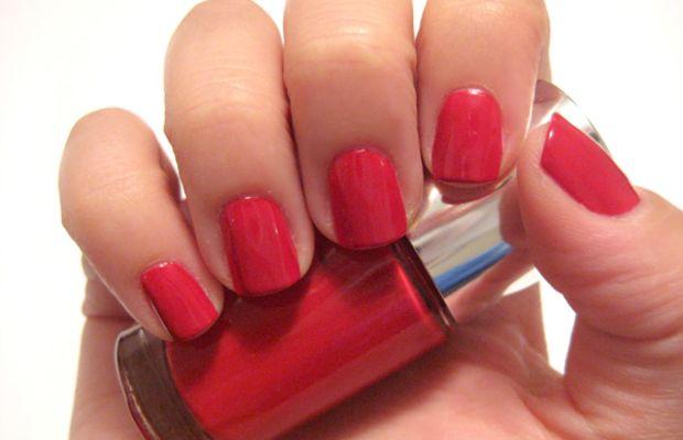 Clinique Sensitive Nail Polish - Party Red