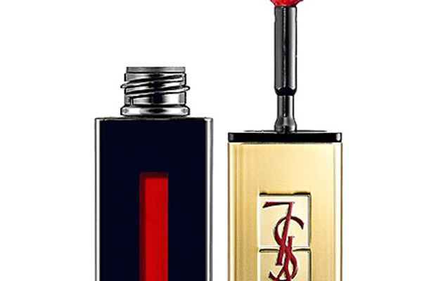 Yves Saint Laurent Rouge Pur Couture Glossy Stain in 9 Rouge Lacque