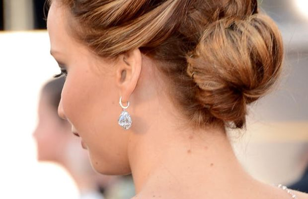Jennifer Lawrence - Oscars 2013 hair