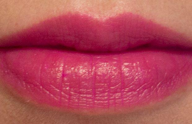 Joe Fresh Long Wear Liquid Lipstick in Baie Sauvage (swatch blotted)