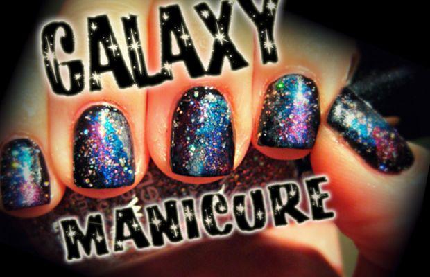galaxy manicure