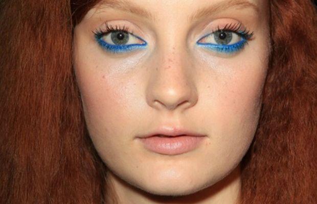 Moschino Cheap & Chic - Spring 2013 makeup-2