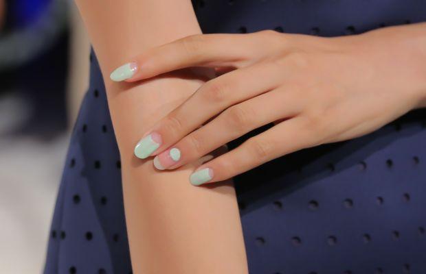 Charlotte Ronson Spring 2015 nails