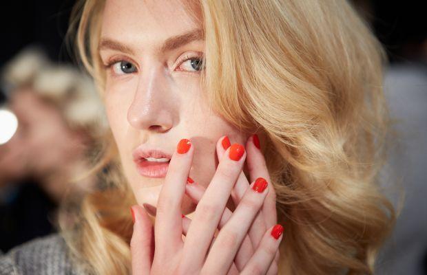 Jenny Packham Spring 2015 nails