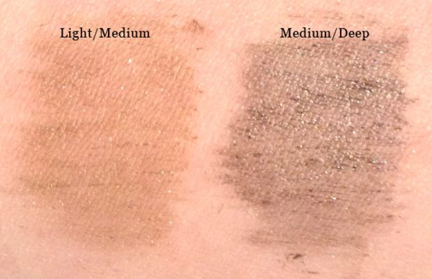 Benefit Gimme Brow swatches