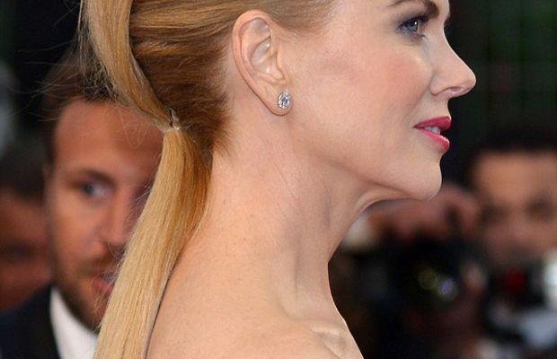 Nicole Kidman - Opening Ceremony, Cannes 2013 - ponytail