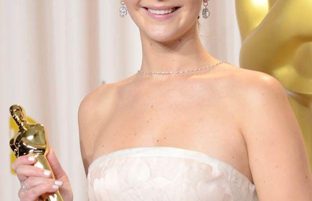 Jennifer Lawrence - Oscars 2013 nails