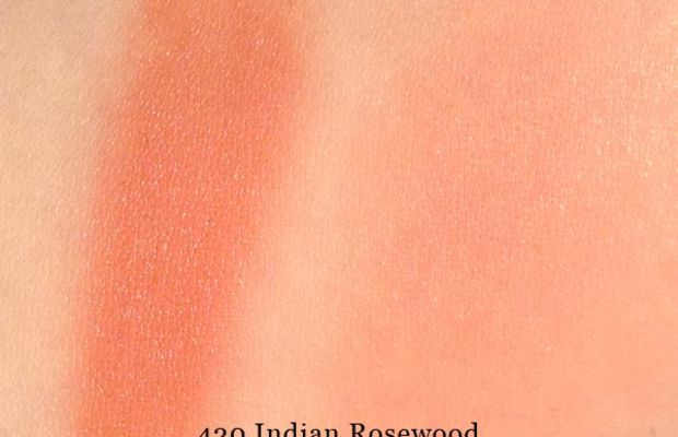 Make Up For Ever HD Blush in 310 Rosewood (swatched)