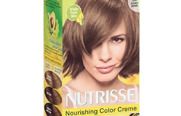 Garnier Nutrisse Permanent Hair Colour in 63 Light Golden Brown