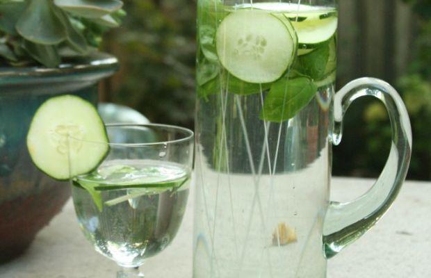 cucumber-basil-water