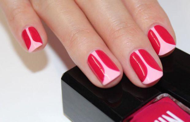 Tulip nail art (2)